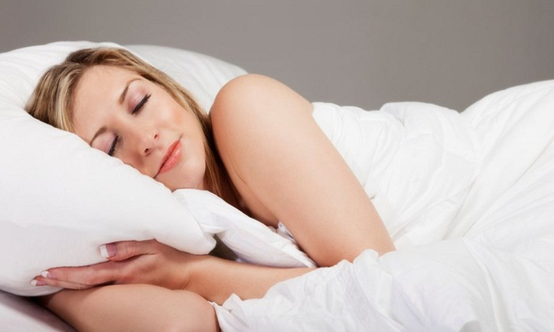 Deep sleep for beautiful body and mind
