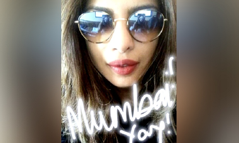 I can't wait to be back in Bombay: Priyanka Chopra