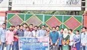 PU EEE Dept team visits N'ganj power station