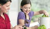 Gardening can encourage your child to eat healthy