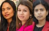 Three Bangladeshi females draw huge attention in UK polls