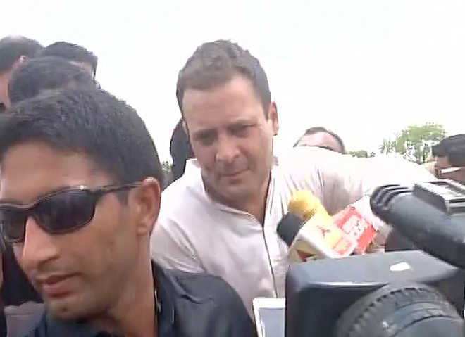Police detain Rahul Gandhi on way to violence-hit Mandsaur in Madhya Pradesh