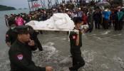 Desperate wait as bodies retrieved from Myanmar plane wreck
