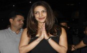 Priyanka Chopra returns to India