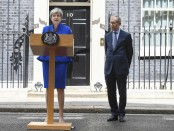 UK polls: Theresa May claims Conservative government supported by DUP will provide 'certainty'