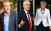 Jeremy Corbyn calls for May to resign after hung parliament confirmed