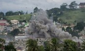 US forces back Philippine troops in Islamist held city