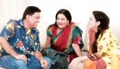 Afzal, Suborna, Tarin work together in a telefilm