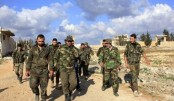 Syrian army holds fifth of key desert territory