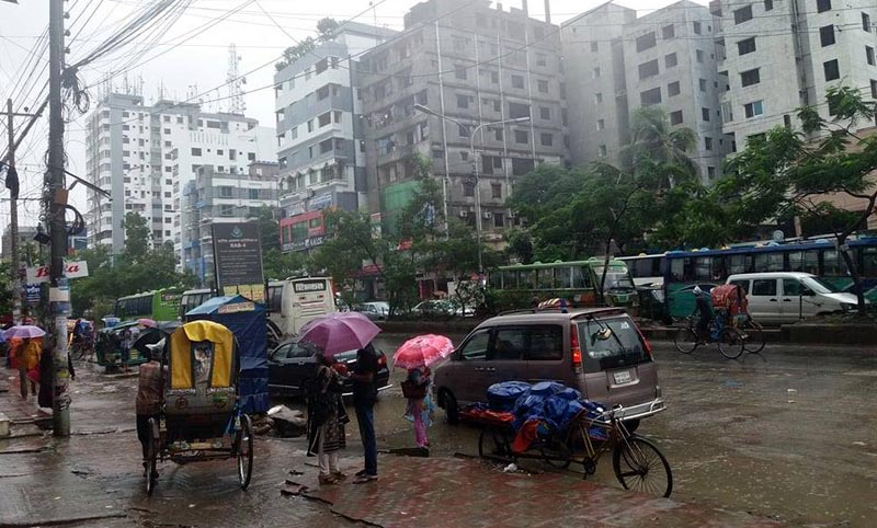 Incessant rain disrupts city life