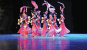 Performance of Sichuan cultural troupe