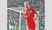 Captain Kane saves England