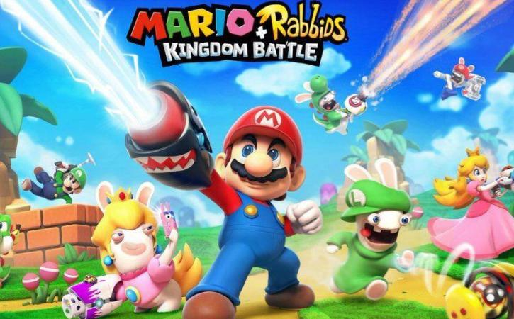 Raving Rabbids, Mario join forces in new Switch game