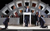 Trump-style 'Julius Caesar' provokes storm in New York