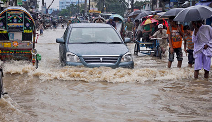 Faulty drainage leaves Dhaka, Ctg in a mess