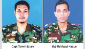 Landslide kills  four army men  in Rangamati