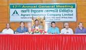 Agrani Ins declares  10pc dividend