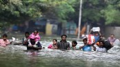 12 die in flash floods in northeastern India