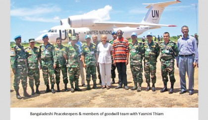 Bangladesh Army Keeps Peace in Central Africa