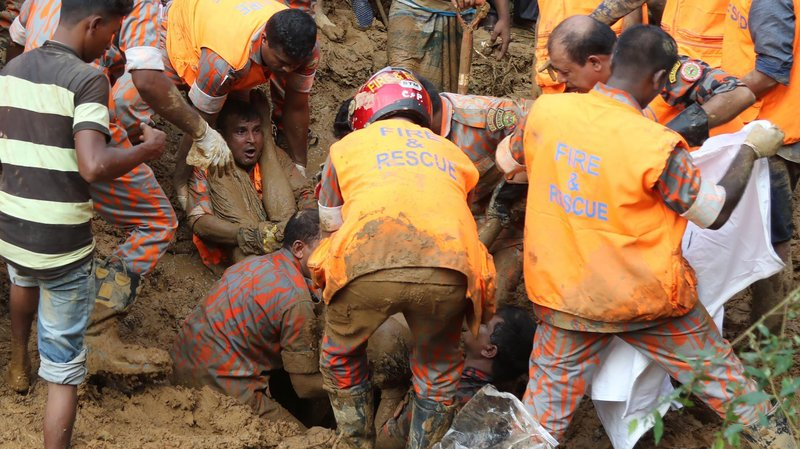 Bodies of 3 more landslide victims recovered in Rangamati