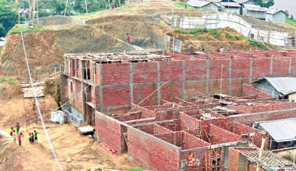 Unabated hill cutting invites disaster