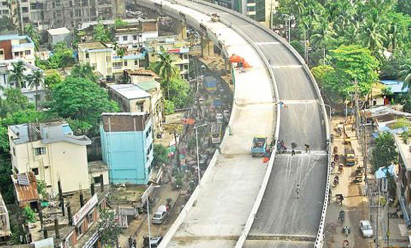 Akhtaruzzaman Chowdhury Flyover opens to traffic in Chittagong