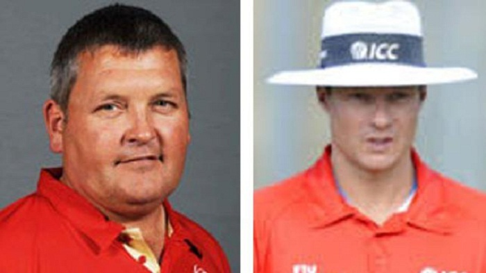 Erasmus, Kettleborough to umpire India-Pakistan final