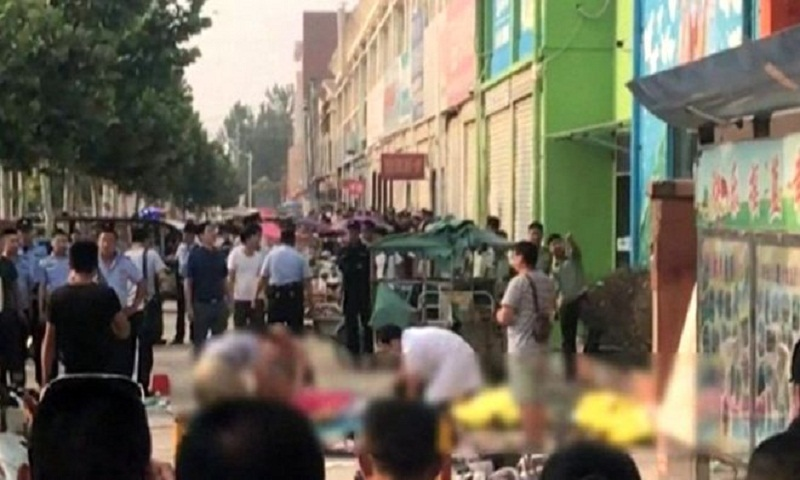 Suspect identified in China kindergarten explosion; 8 killed