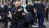 Armed police swoop on knifeman at UK parliament