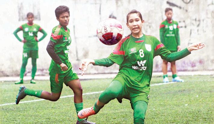 Bangladesh Under-16 Women's Football Team