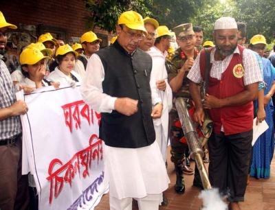 Nasim for preventive measures to check chikungunya