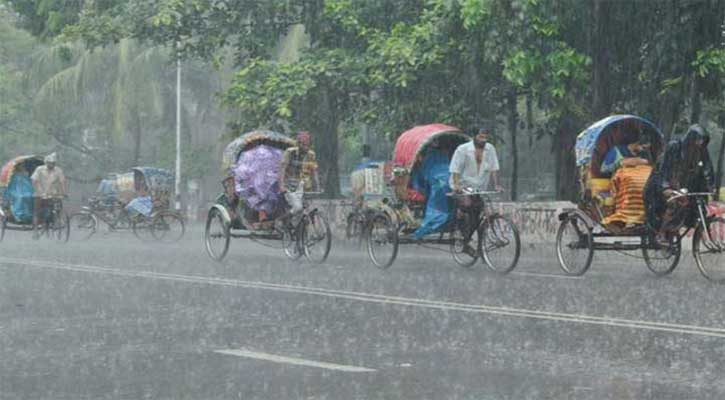Sylhet city experiences heavy rain, waterlogging