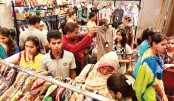 Huge crowd at Bashundhara City Shopping Mall