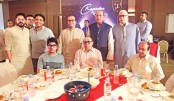 Sk Jamal hosts iftar party