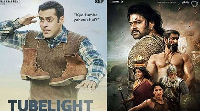Tubelight surpasses Baahubali 2 before its release!