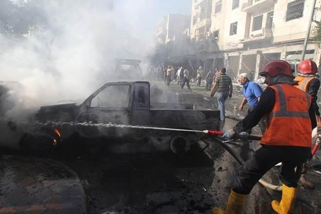Police officer killed in roadside bomb blast in Cairo