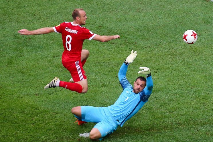 Hosts Russia make winning start in Confederations Cup