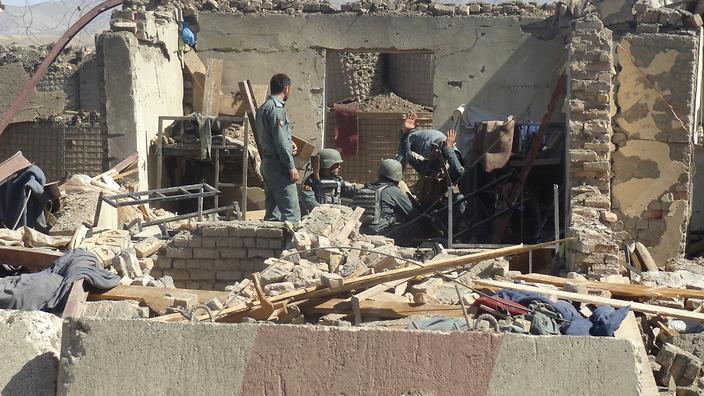 Taliban attack kills 5 Afghan police, injures 15 in Gardez