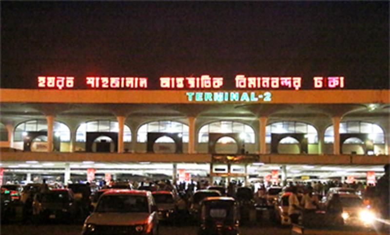 5.5 kg gold  seized at Shahajalal airport, 1 held