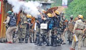 Indian police fire tear gas to curb Darjeeling protests