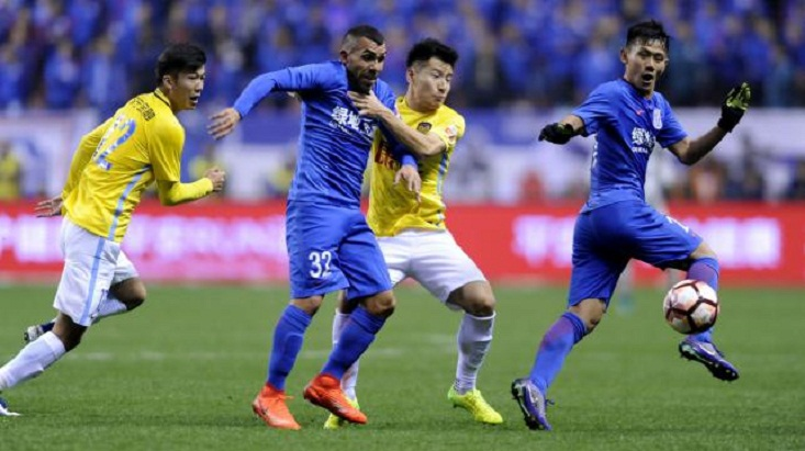 Chinese Shenhua fans turn on misfiring Tevez