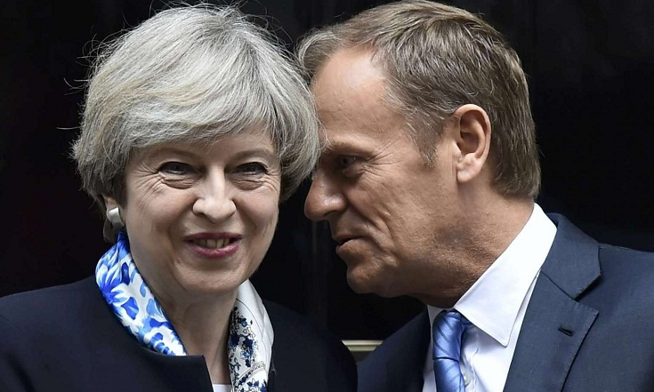 Britain, EU to start historic Brexit talks