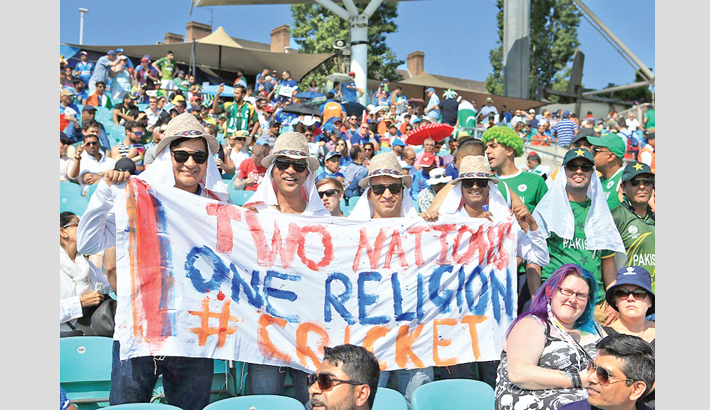 Two nations, one religion, cricket