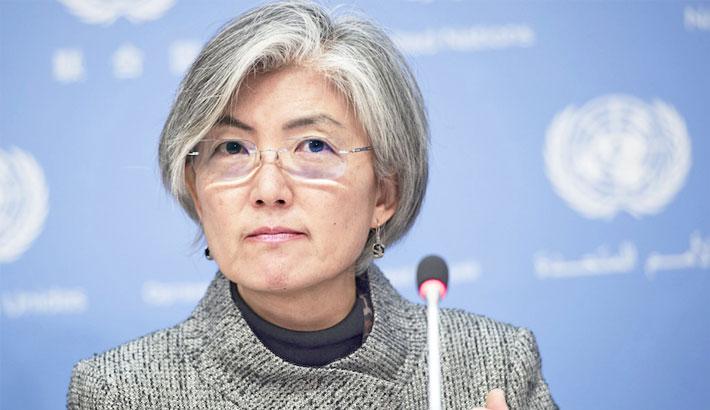 South Korea gets first female FM