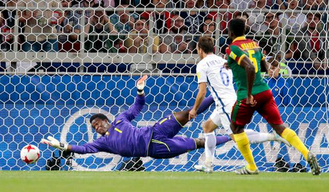 Chile beats Cameroon 2-0 as video reviews draw controversy