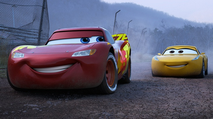 'Cars 3' speeds past 'Wonder Woman'