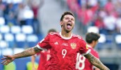 Russia win Confed  Cup opener