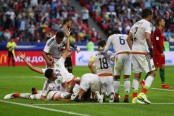 Hector Moreno strikes late as Mexico hold Portugal in Confederations Cup