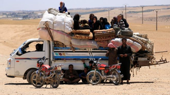 Record 65.6 million people displaced worldwide: UN