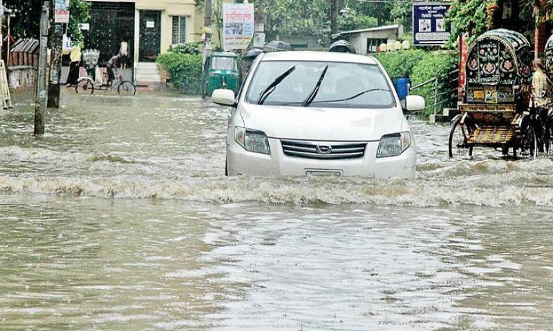 Fresh rain brings misery to people